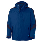 Columbia Whirlibird II Interchange Mens Insulated Ski Jacket, Royal, medium