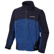 Columbia Heat Elite Lite Tall Fleece Mens Jacket, Royal, medium