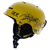 Ride Duster Audio Helmet 2013, Yellow, medium