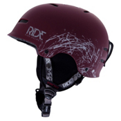 Ride Duster Audio Helmet 2013, Maroon, medium