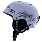 Ride Duster Audio Helmet 2013, White, medium