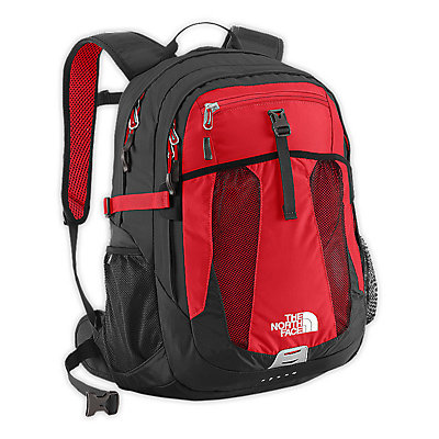 The North Face Recon 29 Backpack, TNF Red-Asphalt Grey, large