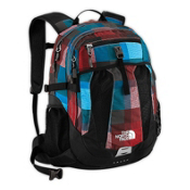 The North Face Recon Backpack 2013, Fiery Red Plaid, medium