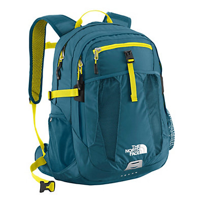 The North Face Recon 29 Backpack, Prussian Blue-Sulphur Spring Green, large