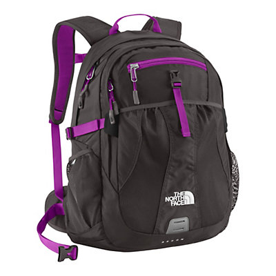 The North Face Recon 28 Womens Backpack, Graphite Grey-Magic Magenta, large