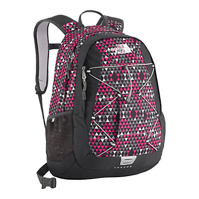 The North Face Womens Jester 27 Backpack, Passion Pink Peak Print, large