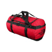 The North Face Base Camp Duffel Duffle Bag 2013, TNF Red-Black, medium
