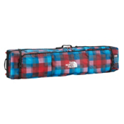 The North Face Base Camp Board Roller Snowboard Bag 2013, Fiery Red Plaid, medium