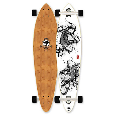 Arbor Bamboo Fish Complete Longboard, , large