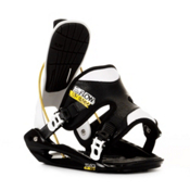 Flow Flite 2 Snowboard Bindings 2013, Black-White, medium