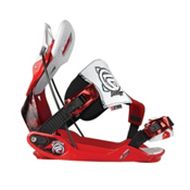 Flow The Five SE Snowboard Bindings 2013, Red, medium