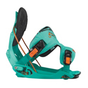 Flow The Five Snowboard Bindings 2013, Turquoise, medium