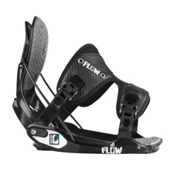 Flow Quattro Snowboard Bindings 2013, Black, medium