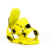 Flow Quattro Snowboard Bindings 2013, Lime, medium