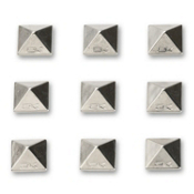 Dakine Pyramid Studs Stomp Pad 2014, Chrome, medium