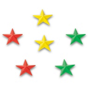 Dakine Star Studs Stomp Pad 2013, Rasta, medium