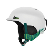 Smith Gage Womens Helmet 2013, White Strobe, medium