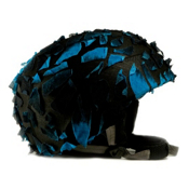 Active Helmets Fracture Helmet Cover, Blue Fracture, medium
