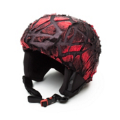Active Helmets Fracture Helmet Cover, Red Fracture, medium