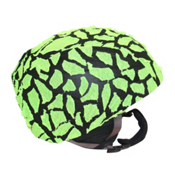 Active Helmets Fracture Helmet Cover, Green Fracture, medium