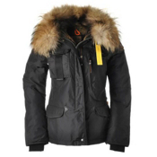 Parajumpers Denali Womens Jacket, Black, medium