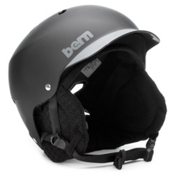 Bern Watts Audio Hard Hat 2013, Matte Black-Greybrim, medium