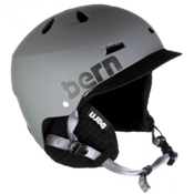 Bern Macon Hard Hat 2013, Matte Grey-Black Visor, medium