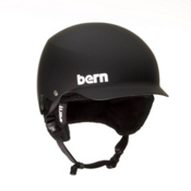 Bern Baker EPS Helmet 2013, Matte Black-Black Knit, medium