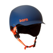 Bern Baker EPS Helmet 2013, Matte Blue-Black Knit, medium
