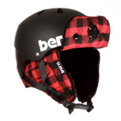 Bern Macon EPS Helmet, Black-Buffalo Plaid Hunter, medium