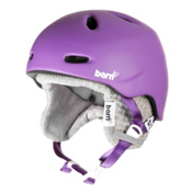 Bern Berkeley Womens Helmet 2013, Matte Purple-Grey Knit, medium