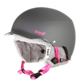 Bern Muse EPS Womens Helmet 2013, Matte Grey-Grey Knit, medium