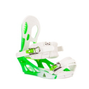 K2 Hurrithane Snowboard Bindings 2013, White-Green, medium