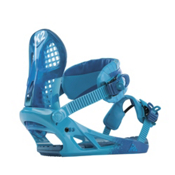 K2 Hurrithane Snowboard Bindings 2013, Blue, medium