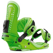 Union Force Snowboard Bindings 2013, Green, medium
