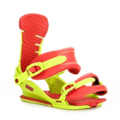 Union Contact Snowboard Bindings 2013, Green-Red, medium