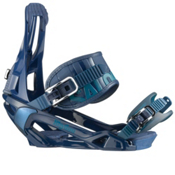 Salomon Rhythm Snowboard Bindings 2013, Blue, medium