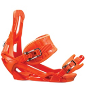 Salomon Rhythm Snowboard Bindings 2013, Orange, medium