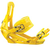 Salomon Rhythm Womens Snowboard Bindings 2013, Yellow, medium