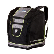 High Sierra Skis.com Deluxe Trapezoid Ski Boot Bag 2013, Black-Charcoal-Chartreuse, medium