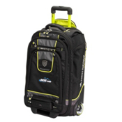 High Sierra Skis.com Wheeled Carry On Ski Boot Bag 2013, Black-Charcoal-Chartreuse, medium