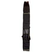 High Sierra Skis.com Adjustable Single Ski Bag 2013, Black-Charcoal-Chartreuse, medium