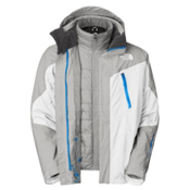 The North Face Headwall Triclimate Mens Insulated Ski Jacket, TNF White, medium