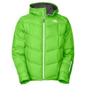The North Face Gatebreak Down Mens Insulated Ski Jacket, Glo Green, medium