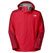 The North Face Freedom Mens Shell Ski Jacket, TNF Red, medium