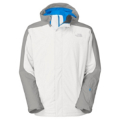The North Face Freedom Mens Shell Ski Jacket, TNF White, medium