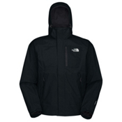 The North Face Varius Guide Mens Shell Ski Jacket, TNF Black, medium
