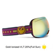 Dragon APX Goggles 2013, Native Print-Gold Ionized, medium