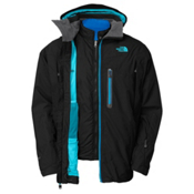 The North Face Mendenhal Triclimate Mens Insulated Ski Jacket, TNF Black, medium