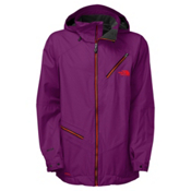The North Face Cymbiant Mens Shell Ski Jacket, Pamplona Purple, medium